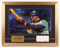 Al Kaline Signed 16x20 Custom Framed Cut Display (PSA Hologram)