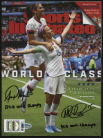 "Megan Rapinoe & Alex Morgan Signed 2019 Sports Illustrated Magazine with (2) ""B2B WWC Champs"" Inscriptions (Beckett COA)"