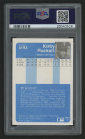 1984 Fleer Update #93 Kirby Puckett RC (PSA 9) at PristineAuction.com