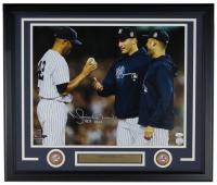 "Mariano Rivera Signed New York Yankees 22x27 Custom Framed Photo Display Inscribed ""HOF 2019"" (JSA COA)"