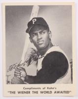 1963 Kahn's #6 Roberto Clemente