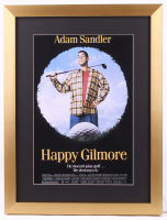"""Happy Gilmore"" 16x21 Custom Framed Movie Poster Display"