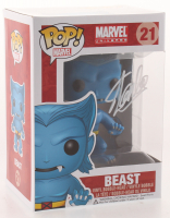 "Stan Lee Signed ""Marvel"" Beast #21 Funko Pop! Vinyl Figure (Radtke COA & Lee Hologram) at PristineAuction.com"