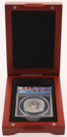 2011 $10 Ten-Dollar Canadian Maple Leaf Forever 1/2 Half Ounce Fine Silver Coin (ANACS SP 70)