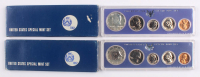 Lot of (2) 1967 United States Special Mint Proof Sets