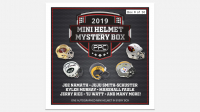 Press Pass Collectibles 2019 Mini Helmet Mystery Box – Series 1 (Limited to 50) at PristineAuction.com