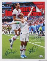 "Alex Morgan & Megan Rapinoe Signed Team USA ""Sports Illustrated"" 11x14 Photo (Beckett COA)"