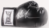 Mike Tyson & Evander Holyfield Signed Everlast Boxing Glove (JSA COA)