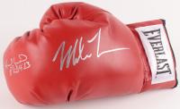 Mike Tyson & Evander Holyfield Signed Everlast Boxing Glove (JSA COA)