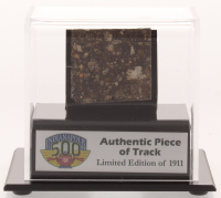 Authentic Piece of Indianapolis Motor Speedway - Indy 500 - Track - with Display Case (Fanatics COA) at PristineAuction.com