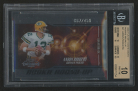 2005 Playoff Contenders Rookie Round Up #21 Aaron Rodgers (BGS 10)