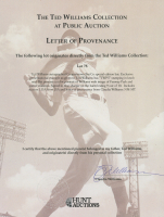 Ted Williams Signed Cooperstown Williams Commemorative Baseball Bat (JSA ALOA) at PristineAuction.com