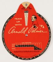 Vintage 1966 Arnold Palmer Promotional Golf Dial