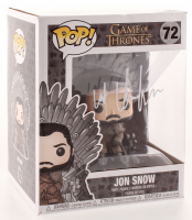"Kit Harington Signed ""Game of Thrones"" #72 Jon Snow Funko Pop Figure (Radtke COA) at PristineAuction.com"