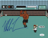 """Mike Tyson Signed """"Punch-Out!!"""" 8x10 Photo (JSA COA)"""