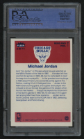 1986-87 Fleer Sticker #8 Michael Jordan RC (PSA 7) (ST) at PristineAuction.com