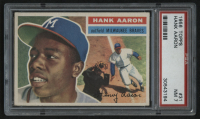 1956 Topps #31 Hank Aaron (PSA 7)