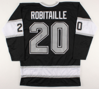 Luc Robitaille Signed Jersey (Beckett COA)