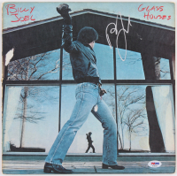 "Billy Joel Signed ""Glass Houses"" Vinyl Album Cover (PSA COA) at PristineAuction.com"