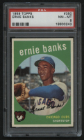 1959 Topps #350 Ernie Banks (PSA 8) at PristineAuction.com