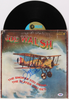 "Joe Walsh Signed ""The Smoker You Drink. The Player You Get."" Vinyl Album Cover (PSA COA) at PristineAuction.com"