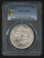 1884-O $1 Morgan Silver Dollar (PCGS MS 65) at PristineAuction.com