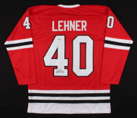 Robin Lehner Signed Jersey (Beckett COA) at PristineAuction.com