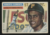 1956 Topps #33 Roberto Clemente at PristineAuction.com