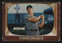 1955 Bowman #202 Mickey Mantle at PristineAuction.com