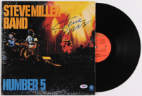 "Steve Miller Signed ""Number 5"" Vinyl Album Cover (PSA COA) at PristineAuction.com"