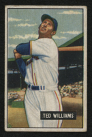 1951 Bowman #165 Ted Williams at PristineAuction.com