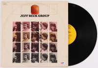 "Jeff Beck Signed ""Jeff Beck Group"" Vinyl Album Cover (PSA COA) at PristineAuction.com"