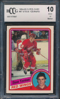 1984-85 O-Pee-Chee #67 Steve Yzerman RC (BCCG 10) at PristineAuction.com