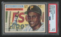 1956 Topps #33 Roberto Clemente White Back (PSA 7) at PristineAuction.com