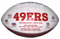 Joe Montana Signed San Francisco 49ers Logo Football (JSA COA) at PristineAuction.com