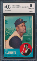1963 Topps #540 Roberto Clemente (BCCG 9)