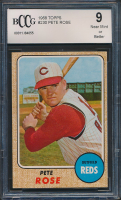 1968 Topps #230 Pete Rose (BCCG 9) at PristineAuction.com