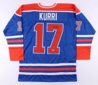 "Jari Kurri Signed Jersey Inscribed ""HOF 2001"" (Beckett COA)"