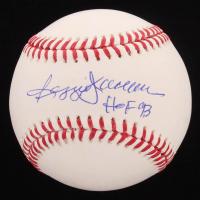 """Reggie Jackson Signed OML Baseball Inscribed """"HOF 93"""" (JSA COA)"""