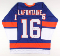 Pat LaFontaine Signed Jersey (JSA COA) at PristineAuction.com