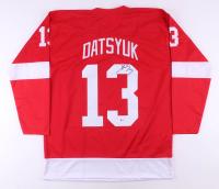 Pavel Datsyuk Signed Jersey (Beckett COA) at PristineAuction.com