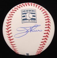 Jim Thome Signed OML Hall of Fame Logo Baseball (Beckett COA) at PristineAuction.com