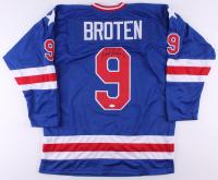 Neal Broten Signed Jersey (TSE COA) at PristineAuction.com