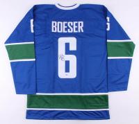 Brock Boeser Signed Jersey (Beckett COA)