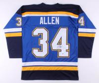 Jake Allen Signed Jersey (Beckett COA)