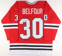 Ed Belfour Signed Jersey (JSA COA) at PristineAuction.com