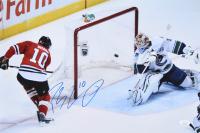 Patrick Sharp Signed Chicago Blackhawks 12x18 Photo (JSA COA)