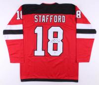 Drew Stafford Signed Jersey (Beckett COA)