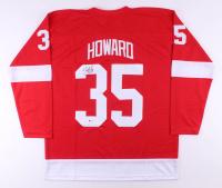 Jimmy Howard Signed Jersey (Beckett COA)