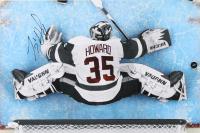 Jimmy Howard Signed Detroit Red Wings 12x18 Photo (JSA COA)